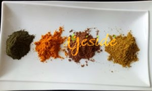 Spices used in mking marugbo/gbanunu soup