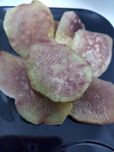 Cocoyam chips: A fried local snack in Nigeria