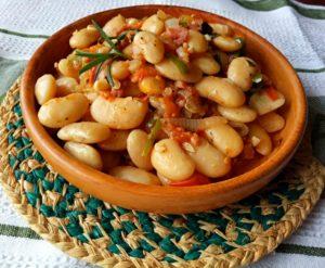 Stewed Butter Beans